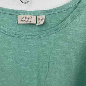 LOGO by Lori Goldstein Tops - Logo Lori Goldstein mint green tunic sz-3X